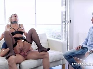 MILF Marina Beaulieu Enjoys Anal While Her Husband Watches - Private