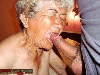 LatinaGrannY arousing Southern grandmas on all 4
