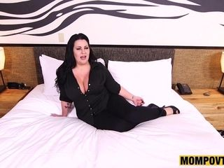 Sexually attractive curvy Mommy incredible xxx scene