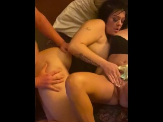 2 couples fucking turns extremely wild swaps fingering pussy