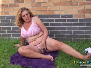 EuropeMaturE Camilla internal ejaculation Solo