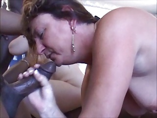 mature ganbang with some BBC
