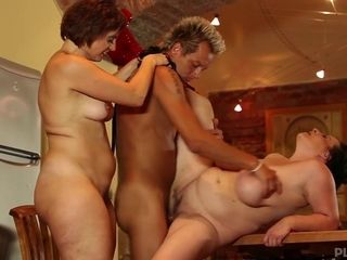 Dragan & Magalie & Martine in Mature Fatties - KINK
