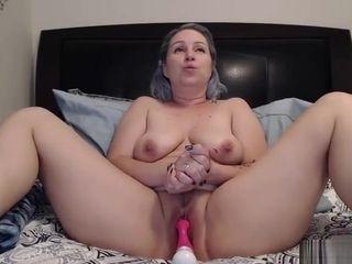 Milf marvelous damsel ejaculating On web cam showcase