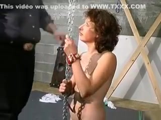 Torrid dark haired fuckslut Gets roped