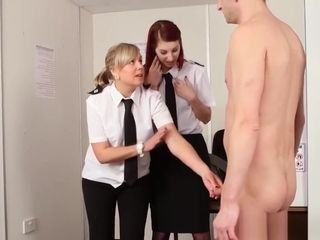 Mature Male Subject To Strip Search