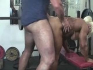 """""""Blonde British Muscle Bombshell and Her Big Clit Fuck Her Man"""""""