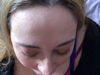 'Slut Wife takes Huge Load to the Face'