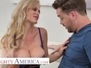 """""""Naughty America - Casca Akashova needs help in the house, not to mention a good, hardcore fuck"""""""