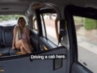 """Fake Taxi Big boobs MILF Bianca Finnish fucks for free ride"""
