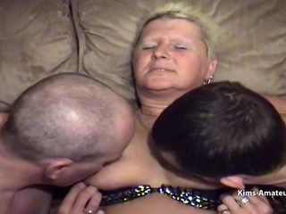 """Larger mature get pleasured by son in laws while hubby fucks her"""