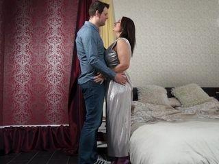 Horny Big Breasted British Milf Fucking And Sucking - MatureNL