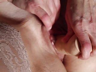 Regulate forth masturbatisurpassing & cum surpassing stockings increased by toes