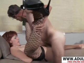 Busty Step Mommy Calliste Gives Blowjob Good Young Step Son