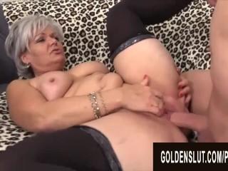 Golden Slut - Older Babes Spreading for Cock Compilation