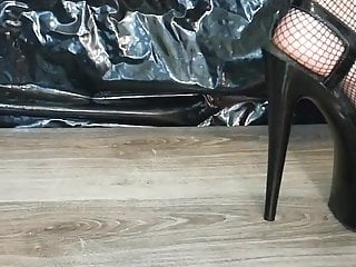 Lady Lee black extreme heels