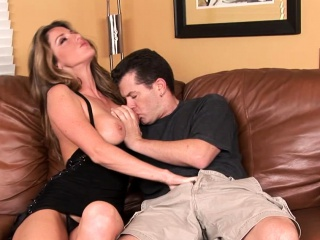 Wifey lets him smash her in various postures
