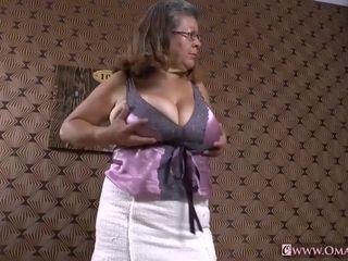 Omageil nasty grandma onanism her elderly coochie