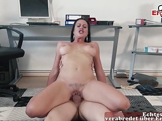 LONELY GERMAN HOUSEWIFE PICK UP YOUNGER GUY FOR SEX DATE
