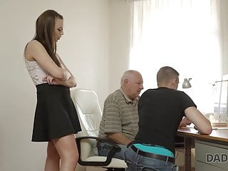 DADDY4K. Ginger-haired dame couldn't fight back to charms of...