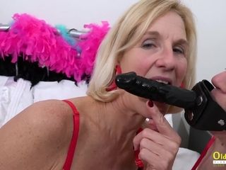 2 mommy I´d Like To pummel lesbos and spandex lovemaking fucktoys