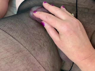 I just love a cock in Pantyhose