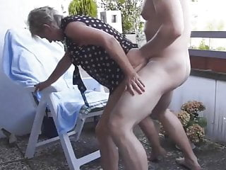 Decidedly fucked old woman