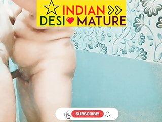 INDIAN DESI MATURE BHABHI TAKES SHOWER AFTER HARDCORE SEX