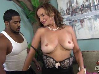 Warm GILF Rebecca Bardoux multiracial Sodomy