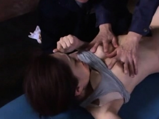 Oriental wifey toughly ass-fuck nailed
