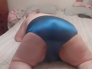 sexy dark blue panties