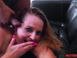 Ultra-kinky mature bi-racial and orgasm