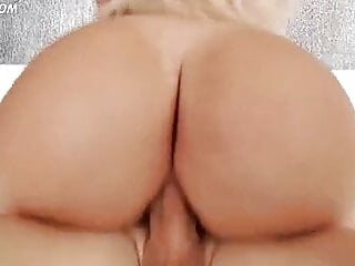 Spanish Assh Lee rides the hard cock with her big butt
