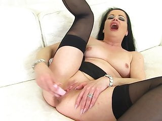 British mother with big hungry vagina