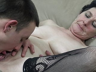 Aged grandmother needs a rock hard wood