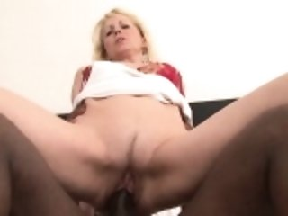 Granny wants black cock in pussy suck black man cock
