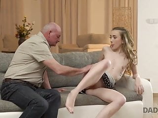DADDY4K. Nosey honey wished to watch dick of her boyfriend's