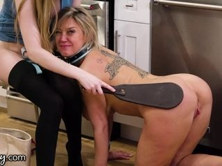 """""""Girlsway Dee Williams Has BDSM Moment With Femdom Bunny Colby"""""""