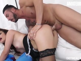 Tila Bordeaux Mature Italian Slut First Time Anal At Audition