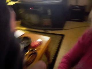 Friend's mommy wants all the jism
