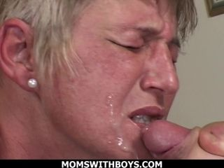 MomsWithBoys messiest moms April 2019 Compilation - deep throat hookup