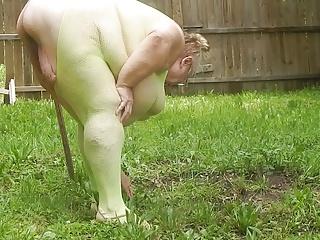 sexy green outside