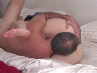 Passionate mature amateur couple 69 and fuck
