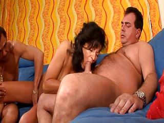 Amateur Mature Casting In Threesome - LostFucker