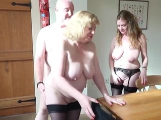 Lily May And Trisha Kitchin In A Threesome Here