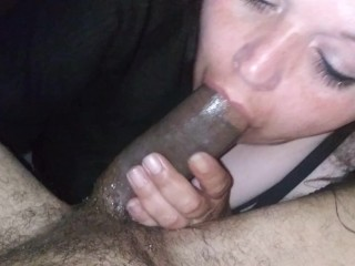 'BBW swallows her 3rd load of cum TODAY!'