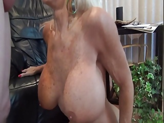 Granny likes big young cock.