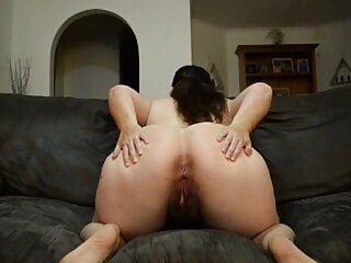 Awesome big tits chubby spreads wide