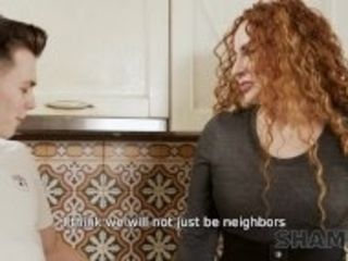 """""""SHAME4K Lovely MILF is trying to be a great neighbor for handsome guy"""""""