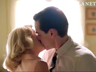 January Jones fuck-a-thon sequence from 'Mad Man' On ScandalPlanetCom